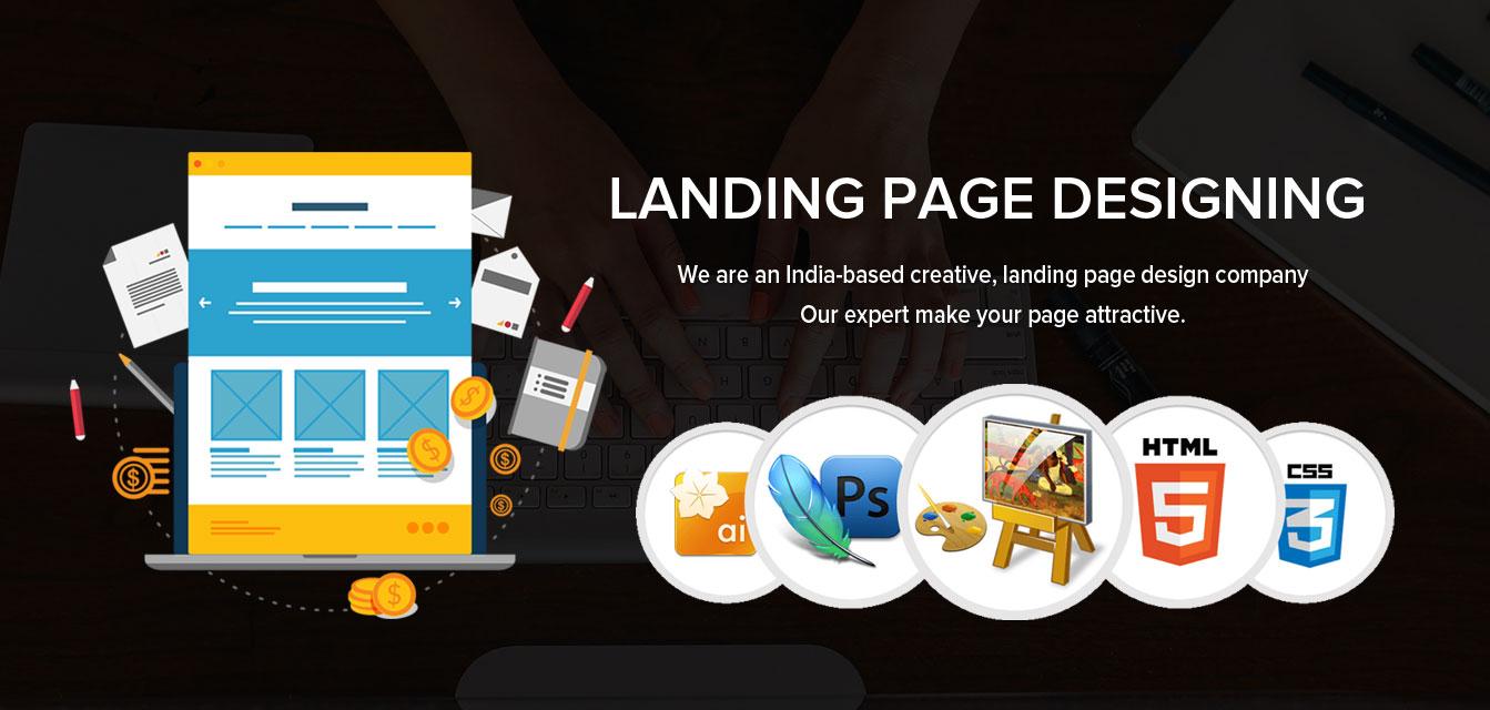 Landing Page design 1 - LANDING PAGE DESIGNING