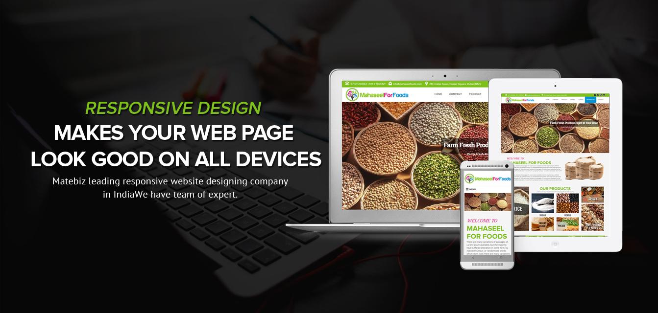 responsive - RESPONSIVE WEBSITE DESIGNING